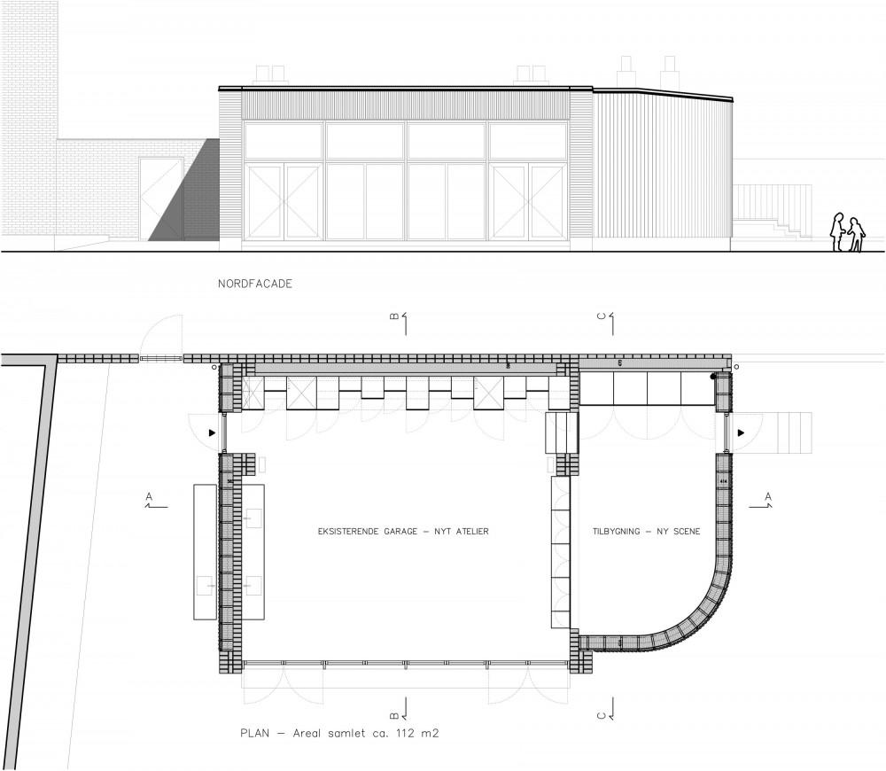 Ny Hollænderskolen - Atelier